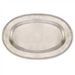 Antique Oval Platter (Large) by Match Pewter