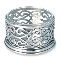 Cutwork Bottle Coaster by Match Pewter