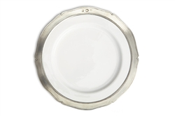 Viviana Salad/Dessert Plate by Match Pewter