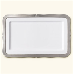 Viviana Rectangular Platter by Match Pewter