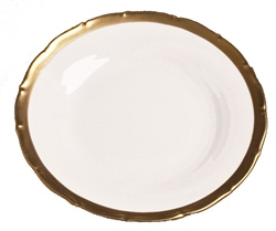 Anna's Golden Patina Salad Plate by Anna Weatherley