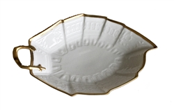 Anna's Golden Patina Leaf Tray by Anna Weatherley