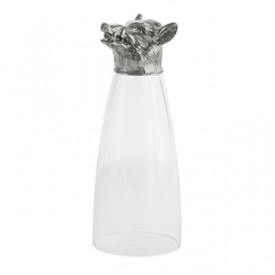 Animale Boar Pilsner Glass by Arte Italica