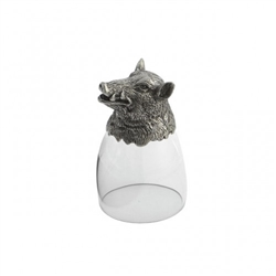 Animale Boar Liqueur Glass by Arte Italica