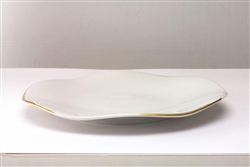 Etincelle Or Dinner Plate by Medard de Noblat