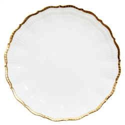 Corail Or Dinner Plate by Medard de Noblat