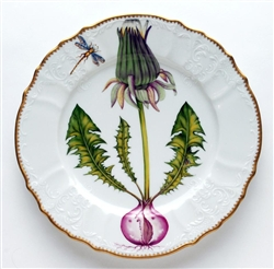 Flowers of Yesterday Dandelion Dinner Plate by Anna Weatherley