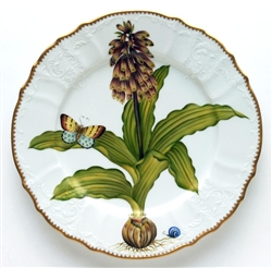 Flowers of Yesterday Narcissus Dinner Plate by Anna Weatherley