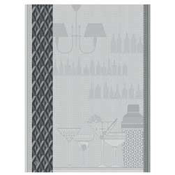 "Ambiance Cocktail Tea Towels (Pair) 24"" x 31"" by Le Jacquard Francais"