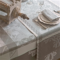 Le Jacquard Francais - Azulejos Enduite (Acrylic Coated) Table Linens