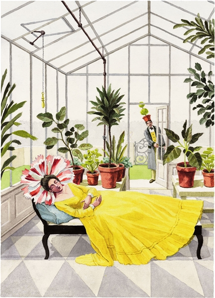A Greenhouse Nap by Harrison Howard