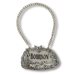 Morning Hunt Bourbon Decanter Tag by Vagabond House