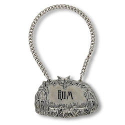 Morning Hunt Rum Decanter Tag by Vagabond House