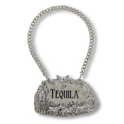 Morning Hunt Tequila Decanter Tag by Vagabond House