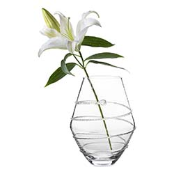 "Amalia 11"" Clear Vase by Juliska"