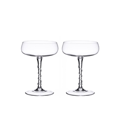 Amalia Champagne Coupe (Set of two) by Juliska