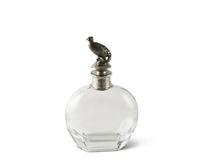 Pheasant Pewter Top Decanter - Short by Vagabond House
