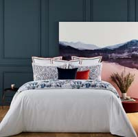 Baie Tropical Floral Bed Collection by Yves Delorme