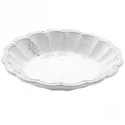 Bella Bianca Medallion Pasta/Soup Bowl by Arte Italica