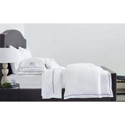 Bergamo Fitted Sheet Luxury Bed Linens by Matouk