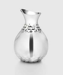 "Helios Stainless Water Carafe 9.5"" H by Mary Jurek Design"