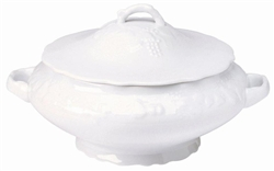 Blanc de Blanc Covered Vegetable/Soup Tureen by Philippe Deshoulieres