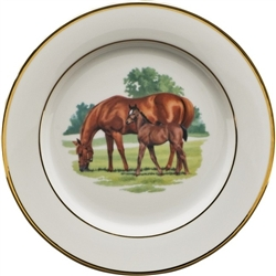Bluegrass Salad Plate by Julie Wear