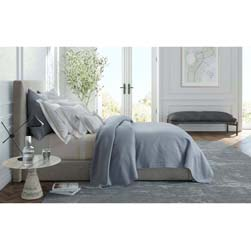Brocatelle Coverlet and Sham by Matouk