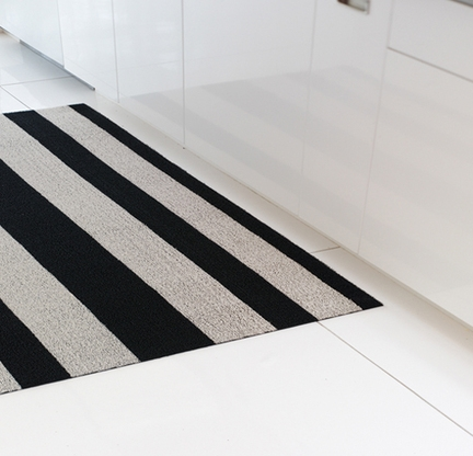 Amazing Bold Stripe Shag Indoor/Outdoor Mats By Chilewich