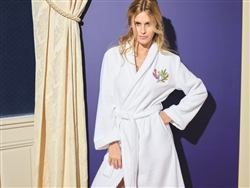 Bouquets Luxury Robe by Yves Delorme