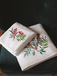 Bouquets Luxury Towels by Yves Delorme