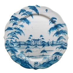 Country Estate Delft Blue Charger by Juliska