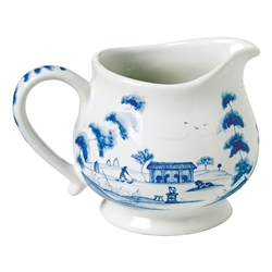 Country Estate Delft Blue Creamer Main House by Juliska