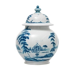 Country Estate Delft Blue Medium Lidded Ginger Jar  by Juliska