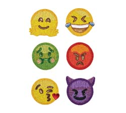 Emoji 2.0 Coaster (Set of 6) by Kim Seybert