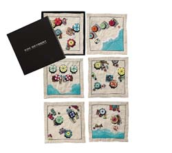 Beach Day Cocktail Napkins (Set of 6) by Kim Seybert