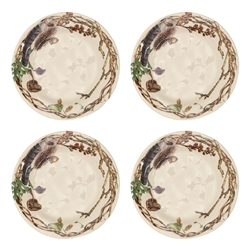 Forest Walk Party Plates Set of Four by Juliska