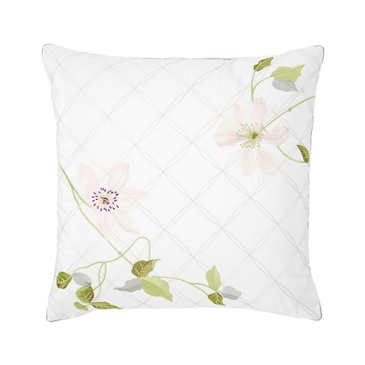 Yves Delorme - Clematis Decorative Pillow