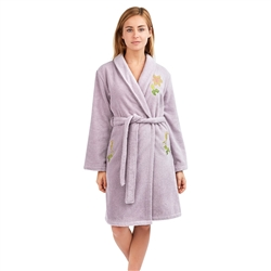 Clematis Luxury Robe by Yves Delorme