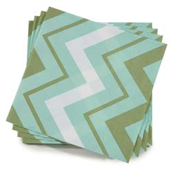 "Color Rock Paper Napkin 16"" x 16"" by Le Jacquard Francais"
