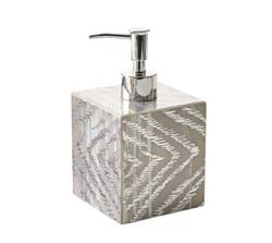 Zebra Soap Dispenser by Kim Seybert
