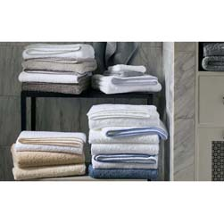 Cairo with Straight Piping Luxury Towels by Matouk