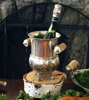 Medici Living Pewter Wine Bucket by Vagabond House