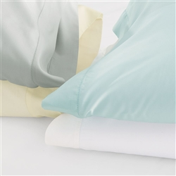 Clic Natural Percale Sheeting By Scandia Home