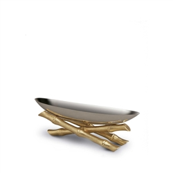 Bambou Small Serving Boat  by L'Objet