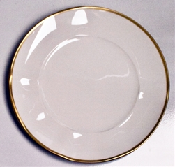 Simply Elegant Gold Dinner Plate by Anna Weatherley