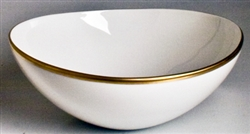 Simply Elegant Gold Cereal Bowl by Anna Weatherley