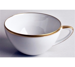 Simply Elegant Gold Tea Cup by Anna Weatherley