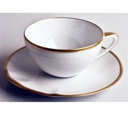 Simply Elegant Gold Tea Saucer by Anna Weatherley