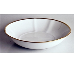 Simply Elegant Gold Soup Bowl by Anna Weatherley